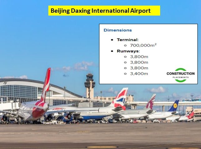 megaprojects, global megaprojects, construction megaprojects, infrastructure megaprojects, beijing daxing international airport, airport megaproject, airport projects
