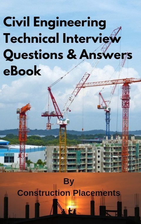 Civil engineering basic interview questions